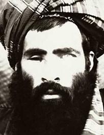 Photo diffusée par les autorités américaines et représentant le mollah Omar, l'un des individus les plus recherchés par le gouvernement américain.