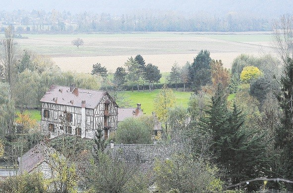 Maison des Balkany à Giverny.