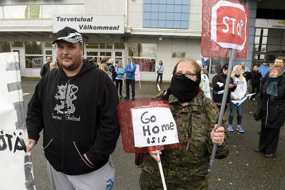 Finlande manifestation contre l'invasion 092015 (5)