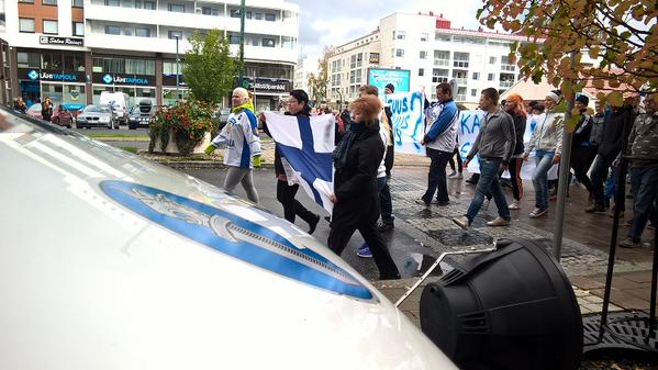 Finlande manifestation contre l'invasion 092015 (6)