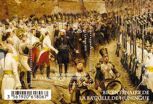 Les combattants de la bataille de Huningue honorés par un timbre