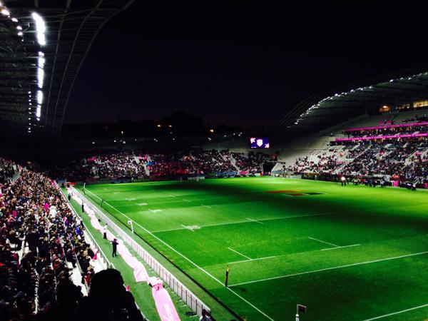 Panne d'éclairage dimanche soir au Stade Jean Bouin à Paris
