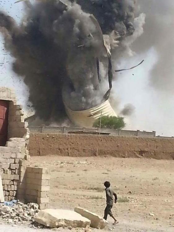 Bombardement à Sanaa - le sort des enfants au nord du Yémen n'intéresse pas les grands médiats...
