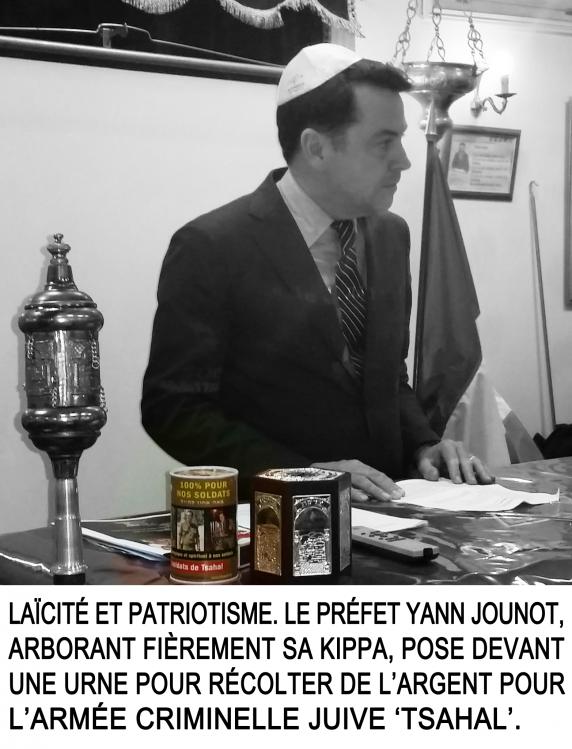 Yann-Jounot-préfet des Hauts-de-Seine, refuse de révoquer le multicorrompu juif Patrick Balkany