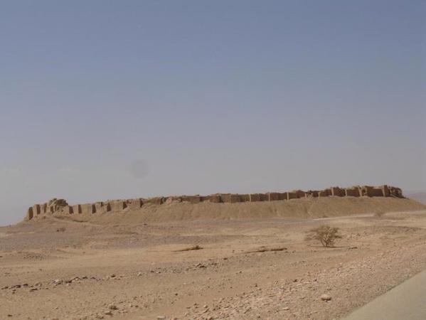 Le château de Baraqish avant l'attaque terroriste
