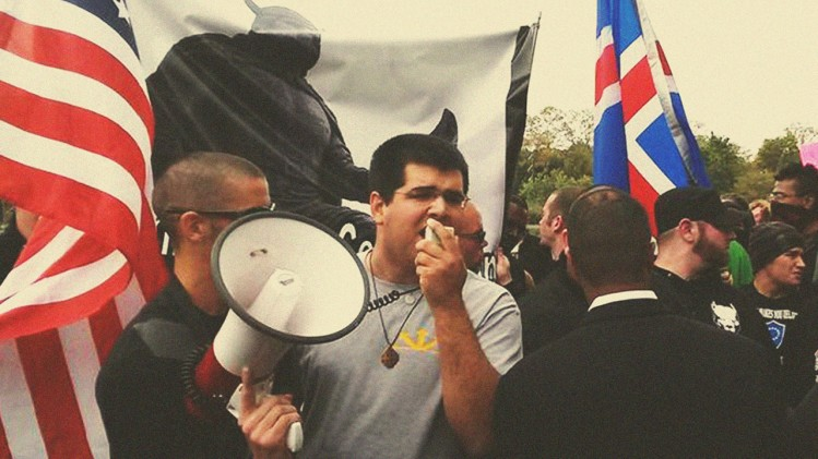 Manifestation sur un campus