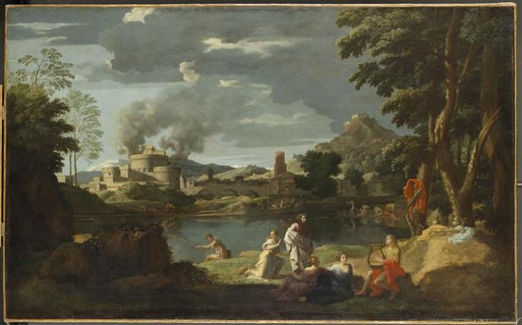 Nicolas Poussin, Orphée et Eurydice