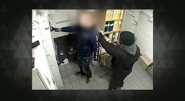 Un criminel africain a mené une série d'attaques à main armée à Lund.