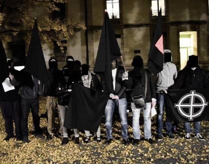 Hommage des nationalistes de Genève aux héros de Budapest