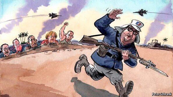 Après le fiasco de l'introuvable coalition internationale, François Hollande veut sauver la planète.