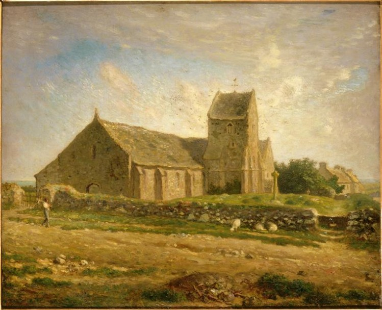 Jean-François Millet, L'église de Gréville
