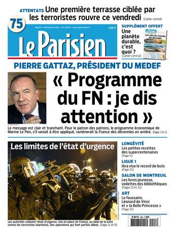 Parisien attaque FN Gattaz
