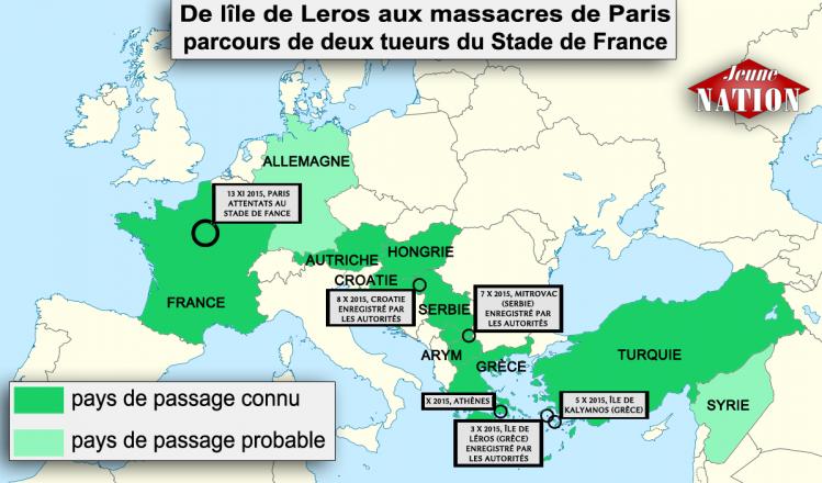 attaques stade de France réfugiés