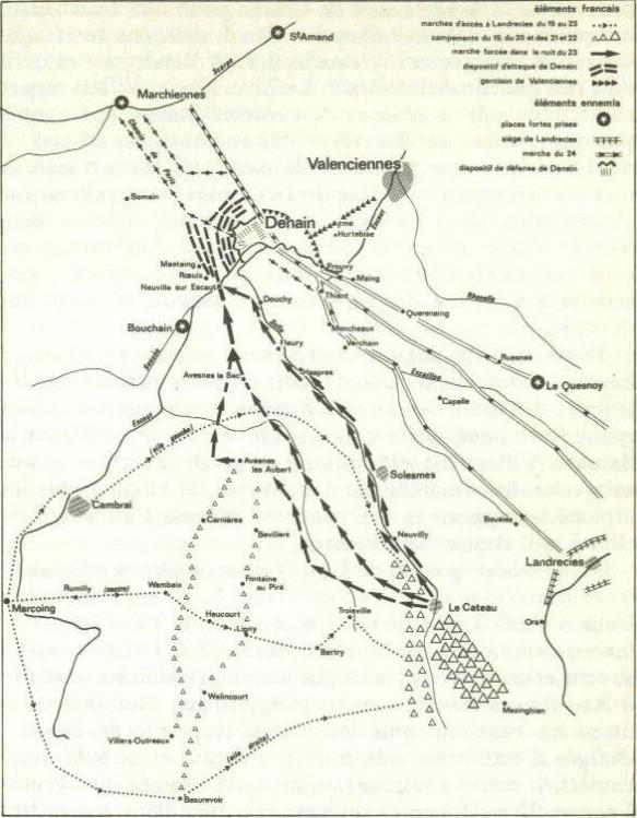 bataille de Denain 1712