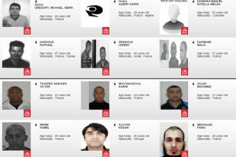 Juif, Arabes, Africains: qui sont les criminels les plus recherchés par la France?
