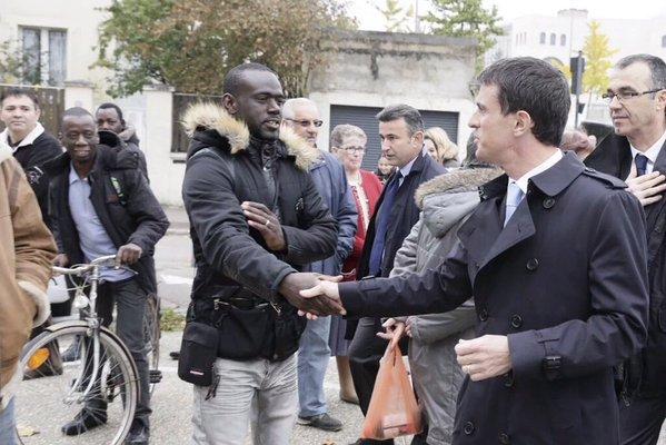 Ailleurs en France. Si Manuel Valls fait tout pour imposer la diversité et détruire les Blancs, on comprend que parfois les 'blancos' lui manquent...