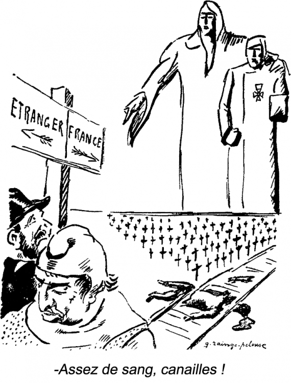 Caricature de Germain Raingo-Pelouse (1893-1963)