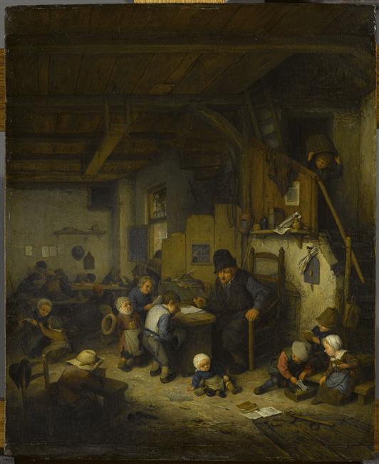 Adrien Van Ostade, Le Maître d'école