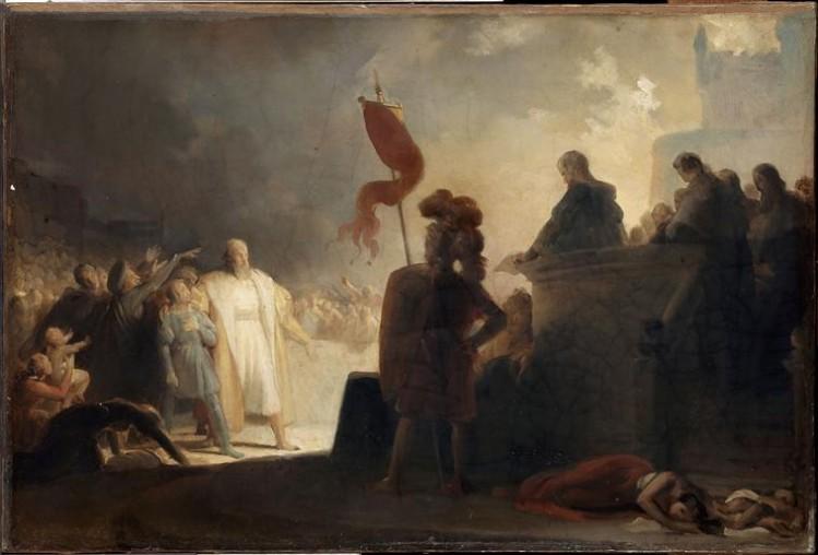 Alexandre-Evariste Fragonard, Une condamnation sous le règne de François Ier