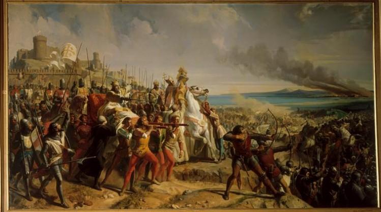 Charles Philippe Larivière, Bataille de Montgisard près d'Ascalon