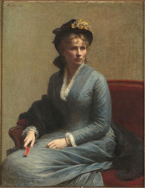 Ignace Henri Jean Théodore Fantin-Latour, Charlotte Dubourg (1882)