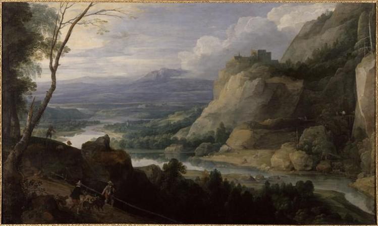 Jacques Fouquières, Paysage aux Piqueux