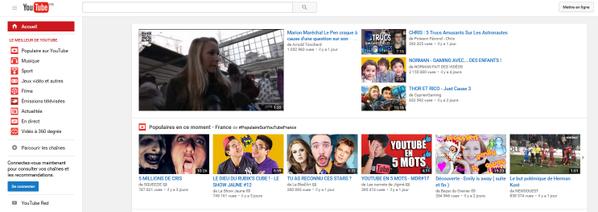 [Capture d'écran : Vidéo de 2010 sur Youtube en 2015]