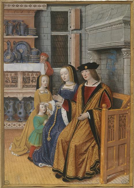 Jean Bourdichon, Les quatre états de la société. l'homme riche ou la Noblesse