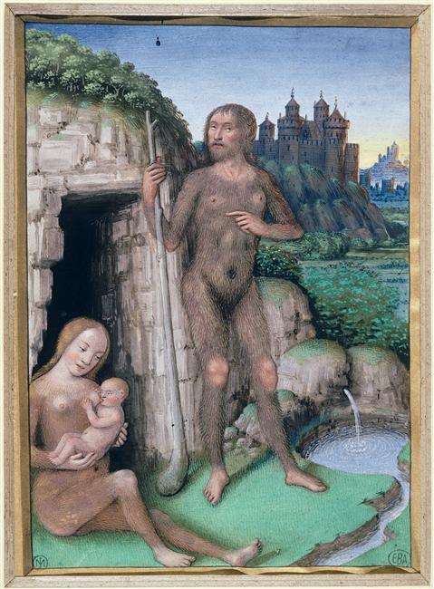 Jean Bourdichon, Les quatre états de la société. l'homme sauvage ou l'état de nature