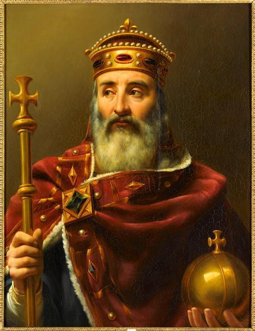 Louis-Félix Amiel, Charlemagne, empereur d'Occident (1839)