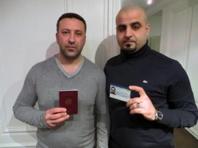 Fouad et Attila, déchus de la nationalité française, à Paris le 15 février 2016.