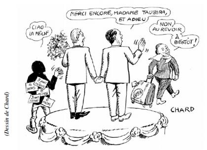 Taubira et Finkielkraut : deux symboles d'une France occupée