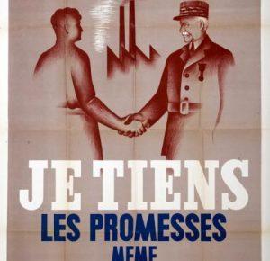 1er mai  -  « Fête du Travail et de la Concorde sociale » instaurée par le maréchal Pétain