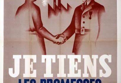 1er mai  –  « Fête du Travail et de la Concorde sociale » instaurée par le maréchal Pétain