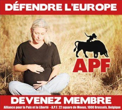 L'Alliance pour la paix et la liberté à Bruxelles, Copenhague et Bratislava