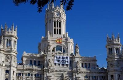 Espagne_réfugiés_welcome