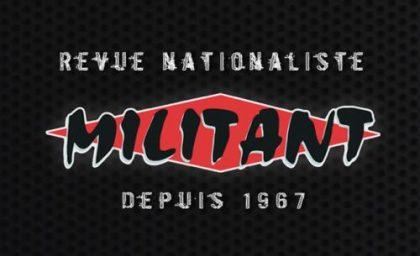 Entretien N°6 de la revue Militant avec son directeur André Gandillon
