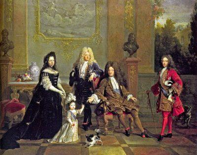 Louis_XIV et sa famille  13 05