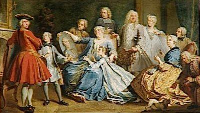 Mme Mercier Nourice de Louis XV