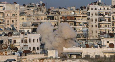 Syrie_Alep_bombardement_gaz