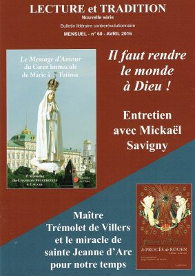 lecture et trad  n° 60