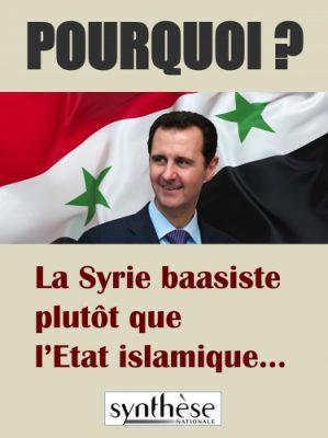 pourquoi  la syrie