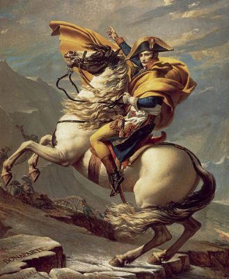 David_-_Napoleon_crossing_the_Alps_-_Malmaison2