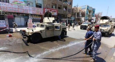 Irak_triple_attentats_Bagdad