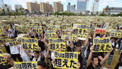Japon_Okinawa_protestations_bases_USA