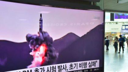 Corée du Nord : 3 tirs de missiles balistiques