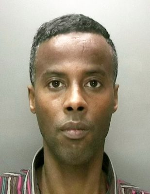 Dahir Ibrahim. A rapist has been jailed for life ¿ to serve a minimum of 10 years ¿ after brutal attacks on two vulnerable women as they walked through the streets of Birmingham. See NTI story NTIATTACK. Dahir Ibrahim, 31, dragged them into dark alleys, threatened them with weapons and then sexually assaulted and beat them in the early hours of the morning in September and October 2014. The first assault happened on Friday 3 September in Villa Road, Perry Barr and the second on Saturday 18 October in Ludgate Hill, Birmingham city centre. Both women were left injured and helped by passers-by who called police for assistance.