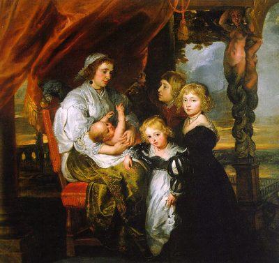 Peter_Paul_Rubens_-_Deborah_Kip_and_her_Children_-_WGA20381