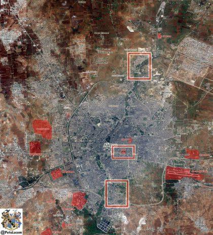 Syrie : L'armée Syrienne et les milices Palestiniennes libèrent le camp de réfugiés d'Handarat au nord D'Alep.