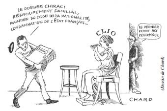 """Chirac, """"le plus détestable président de la Ve République"""""""